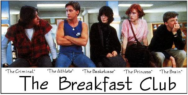 psychology principles in the breakfast club Read this essay on the breakfast club philosophy and psychology the breakfast club in: philosophy and psychology submitted by mackitte words 714.